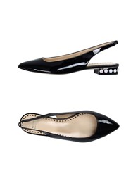Moschino Cheap And Chic Moschino Cheapandchic Ballet Flats Black