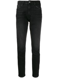 Anine Bing High Rise Slim Fit Jeans 60