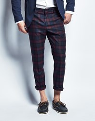 Selected Crop Mylo Sheldon Trouser Navy