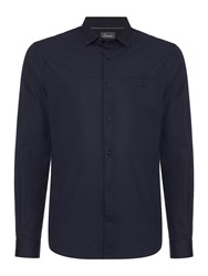 Linea Welt Pocket Long Sleeve Shirt Navy