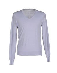 Paolo Pecora Knitwear Jumpers Men Lilac