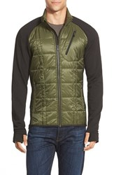 Men's Smartwool 'Corbet 120' Water Resistant Mixed Media Jacket Loden