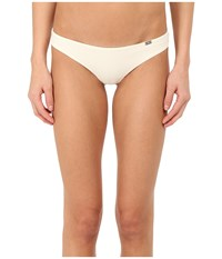 Emporio Armani Sophisticated Microfiber Thong Nude Women's Underwear Beige
