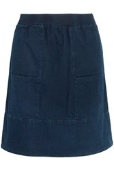A.P.C. Atelier De Production Et De Creation Stacy Denim Mini Skirt Indigo