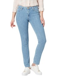 Lee Elly High Waist Slim Jeans Bleached Stone