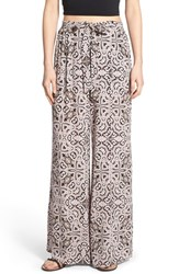 Women's Astr Print Wide Leg Pants