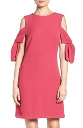 Chelsea 28 Women's Chelsea28 Cold Shoulder Knit Dress Pink Vivacious
