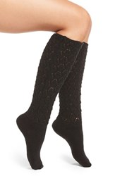 Natori Women's 'Schiffli' Variegated Knit Knee High Socks