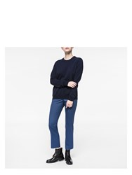 Paul Smith Women's Navy Cashmere Sweater Blue