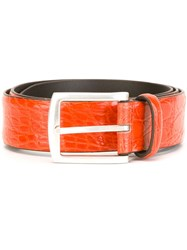 Andrea D'amico Buckle Belt Yellow And Orange