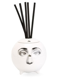 Fornasetti Printed Diffusing Sphere White