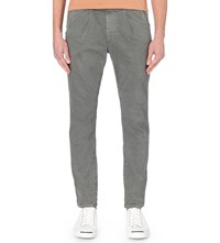 Ag Jeans The Roman Slouchy Fit Slim Chinos Grey