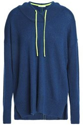 Duffy Cashmere Hooded Sweater Cobalt Blue