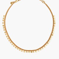 Madewell Mini Geochain Choker Necklace Vintage Gold