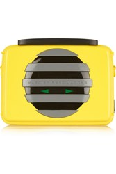 Marc By Marc Jacobs Out Loud Acrylic Clutch Yellow