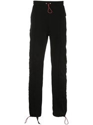 Unravel Project Slim Fit Track Pants Black