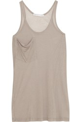 Kain Label Modal And Silk Blend Tank Nude