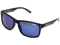 Steve Madden Dante Black Blue Fashion Sunglasses
