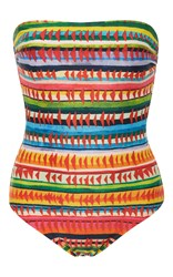 Lenny Niemeyer Printed Strapless Swimsuit