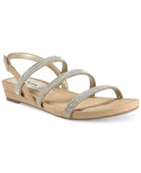 Nina Beonca Strappy Slingback Flat Sandals Women's Shoes