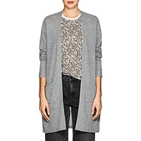 Atm Anthony Thomas Melillo Cashmere Open Front Cardigan Gray