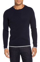 Velvet By Graham And Spencer Men's Bronson Sweater Navy