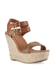 Elliott Lucca Giulia Platform Wedge Sandals Copper