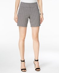 Inc International Concepts Printed Shorts Only At Macy's Black White