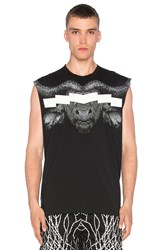 Marcelo Burlon Pokigron Tank Black And White