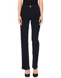 Jeans Les Copains Denim Denim Trousers Women Dark Blue