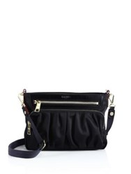 M Z Wallace Bedford Small Abbey Nylon Crossbody Bag Black