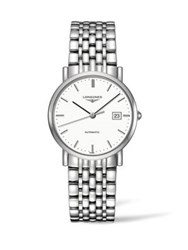 Longines Analog Stainless Steel Automatic Link Bracelet Watch No Color