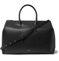 Mansur Gavriel Leather Holdall Black