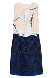 Emilio Pucci Embellished Dress With Lace Multicolor