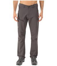 Jack Wolfskin Activate Pants Tall Dark Steel Men's Casual Pants Brown