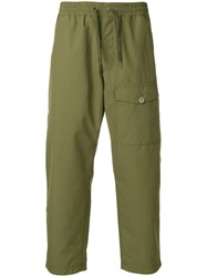 Nanamica Cropped Trousers Green