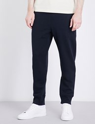 Paul Smith Bright Waistband Cotton Jersey Jogging Bottoms Navy