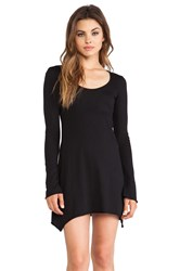 Bobi Light Weight Jersey Tunic Black