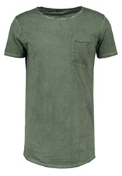 Ltb Wicede Basic Tshirt Dirty Combat Green Oliv