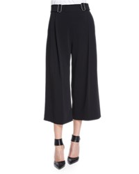 A.L.C. Beals Belted Gaucho Pants Black