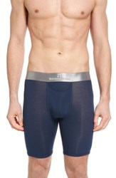 Tommy John Second Skin Titanium Boxer Briefs Dress Blues