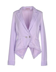 Met Suits And Jackets Blazers Women Lilac