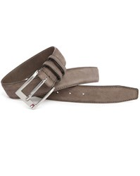 Tommy Hilfiger Taupe Huston Suede Belt