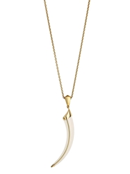 Shaun Leane Knife Edge Tusk Necklace White