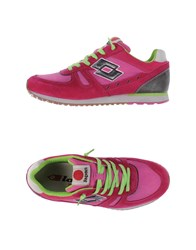 Lotto Leggenda Footwear Low Tops And Trainers Women Fuchsia