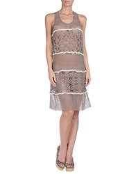 Twin Set Simona Barbieri Cover Ups Beige
