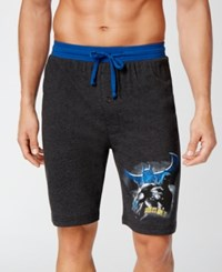 Briefly Stated Men's Cotton Batman Pajama Shorts Assorted