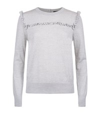 Set Ruffled Wool Jumper Female Grey