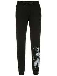 Andrea Bogosian Printed Sweatpants Black