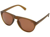 Zeal Optics Memphis Olive W Polarized Copper Lens Fashion Sunglasses Brown